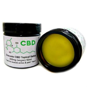 Draconis Energising Aromatherapy 300mg CBD Oil Topical Salve